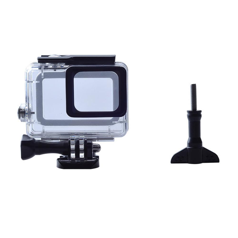 Camera Waterproof Case Black for GoPro HERO5 6 7 generation  Transparent