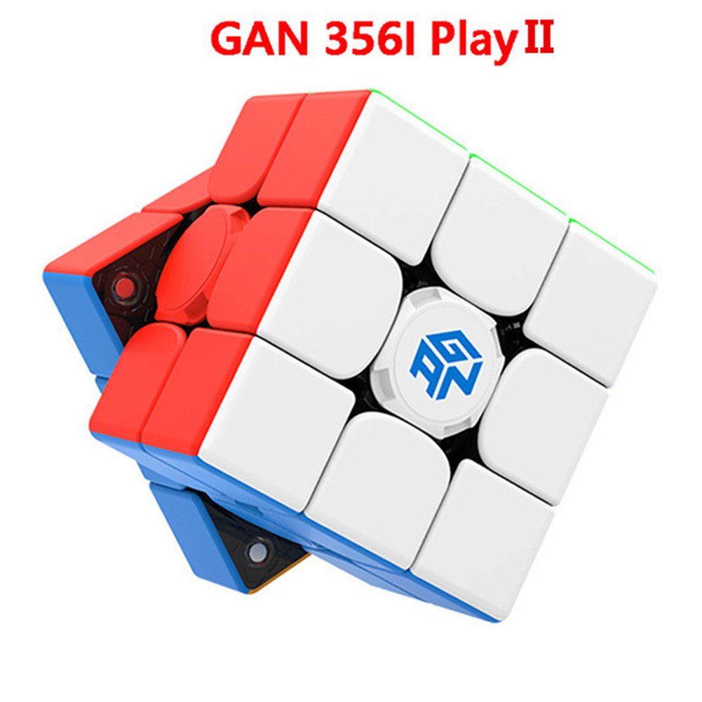 GAN356I 2 play Magic Cube 3X3 Smooth Speed Magic Cube Puzzle Educational Toys 356I 2play patch version