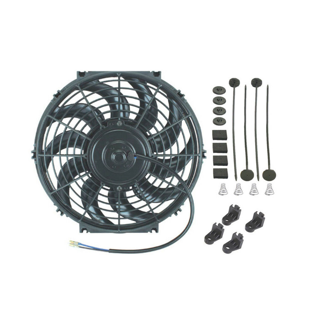 12-inch Electric Radiator Cooling Fan 80W Motor 1700 CFM High Air Flow