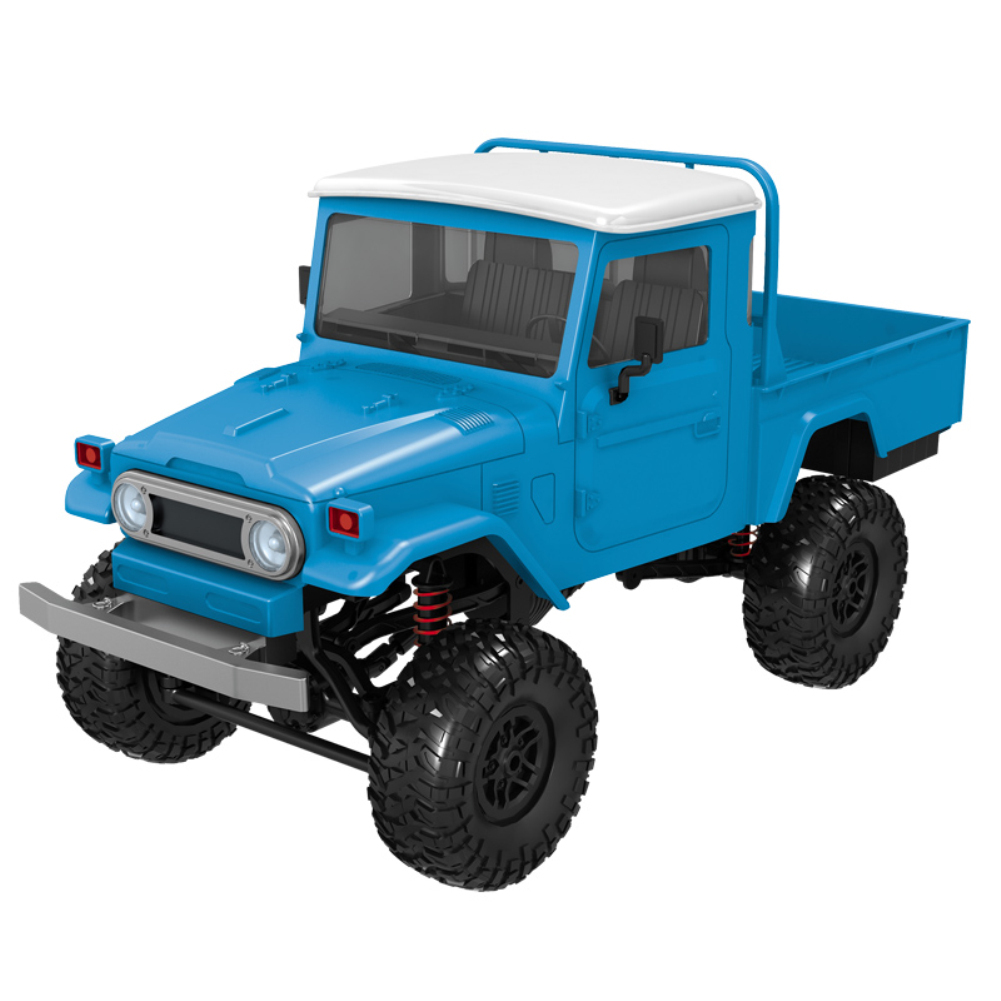 1:12 Simulation Truck RC Car Modeling Toy with Remote Control for Kids  Blue vehicle MN45_1:12