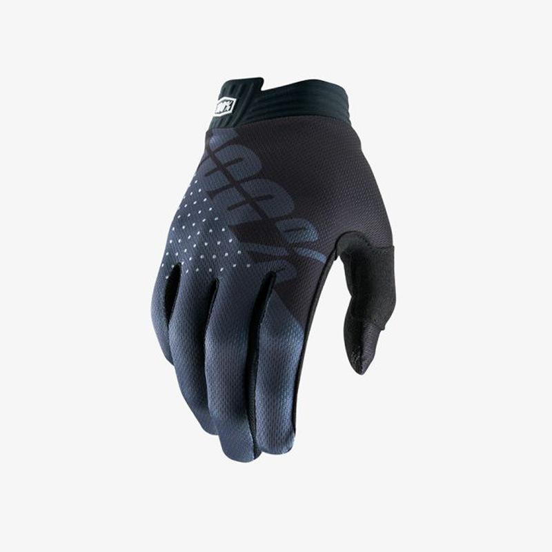 Motorcycle Gloves Mountain Bike Racing Glove Locomotive Delicate Motorsport MTB Bike Motorcycle Gloves Gray Letter_M