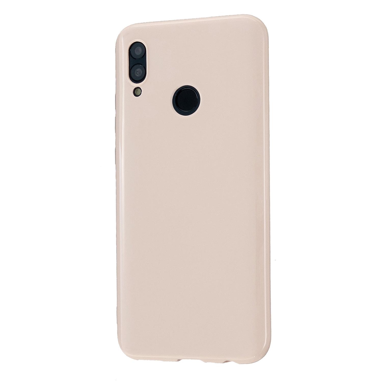 For HUAWEI Honor 10 Lite/P Smart/P Smart-Z 2019 Cellphone Shell Simple Profile Soft TPU Phone Case  Sakura pink