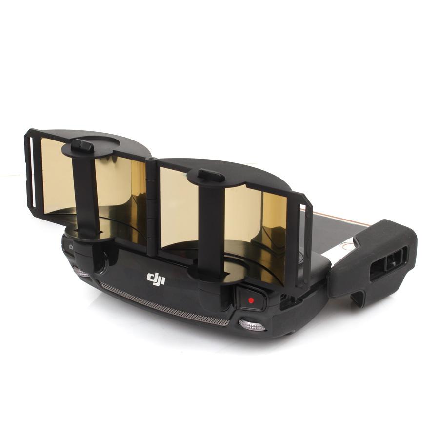Controller Transmitter Range Extender Foldable Aluminium Mirror Signal Booster for DJI Mavic Pro Drone Golden