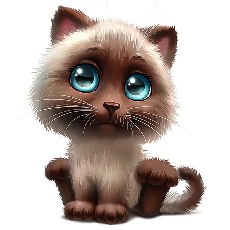 Funny Car Body Sticker Cute  3D Cat Cartoon Widow Car Stickers