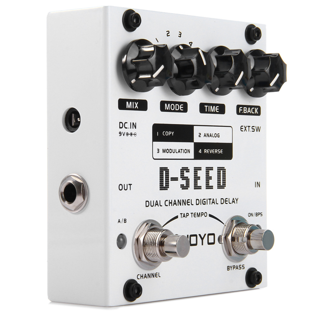 JOYO D-SEED Digital Delay Electric Guitar