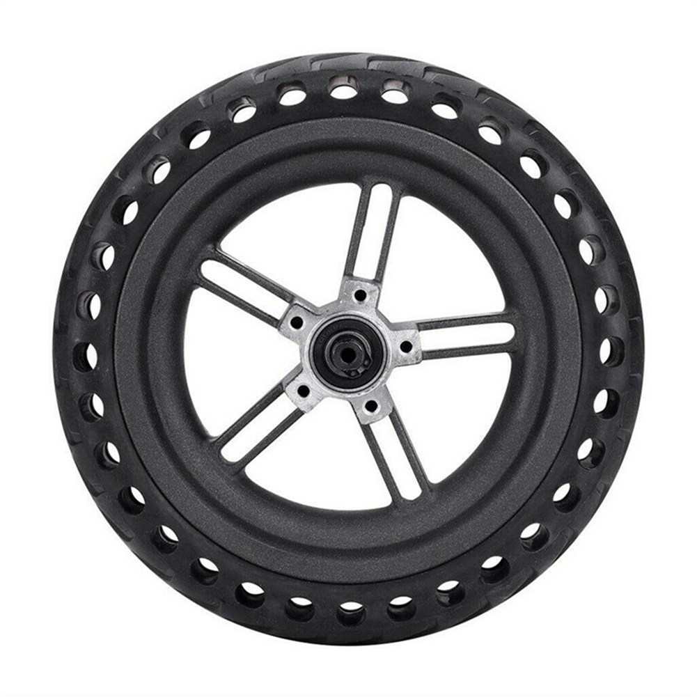 Electric Scooter Tire Kit Scooter Accessories for Xiaomi M365 8.5 inch honeycomb explosion-proof tire rear wheel with hub