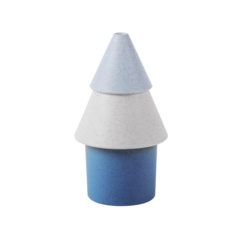 Mini Christmas Tree Styling Humidifier Household USB Charging Atomizer blue