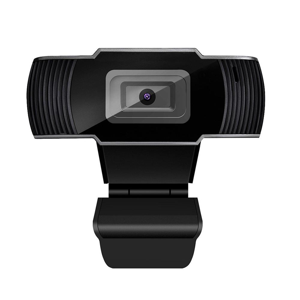 [US Direct] HD 1080P Web Camera 5MP Webcam USB3.0 Auto Focus Video Call with Mic for Computer PC Laptop black
