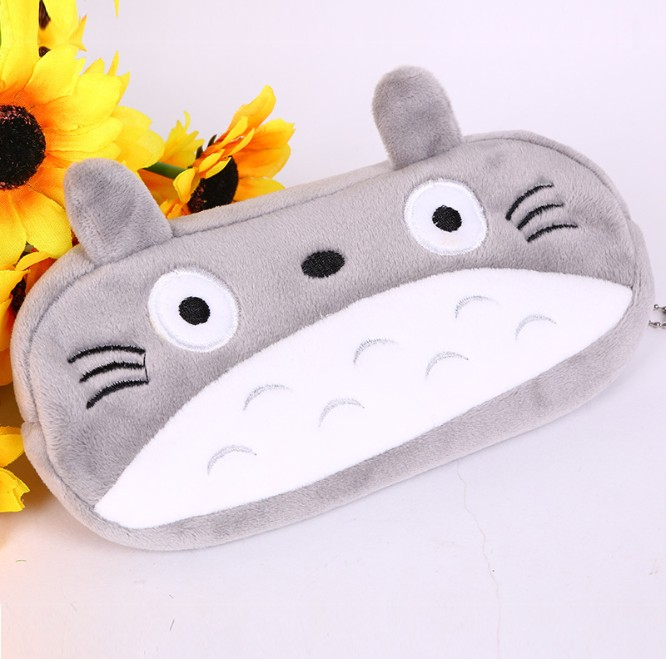 [US Direct] Totoro Cute Plush Pencil/pen Bag Pouch