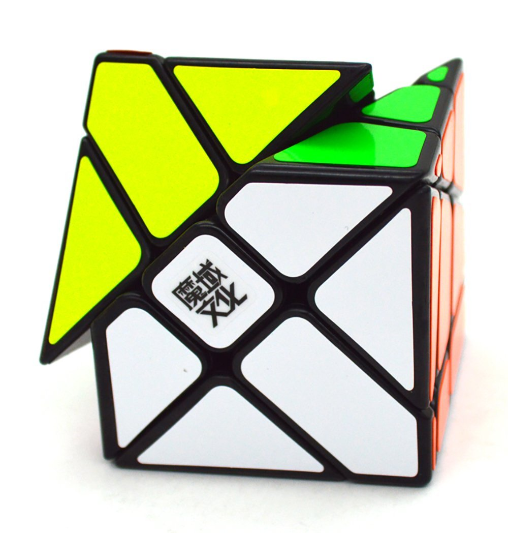 [US Direct] Moyu Yj Crazy Fisher Speed Cube Puzzle Black