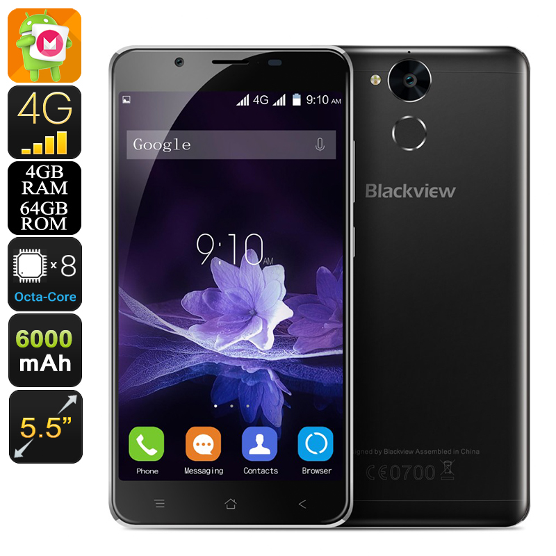 Blackview P2 Android Smartphone (Black)