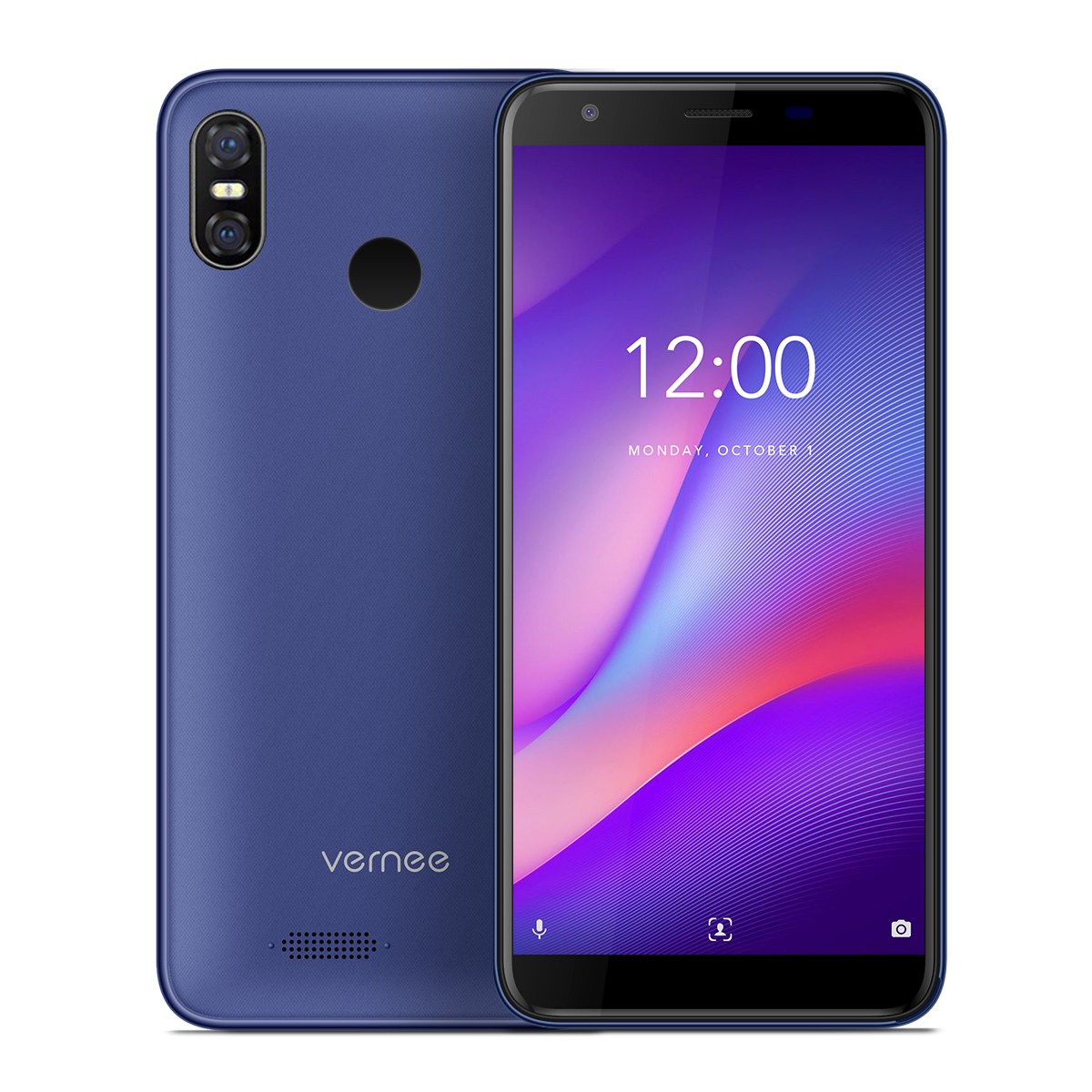 Vernee M3 3+32GB 5.5 Inch Mobile Phone Blue