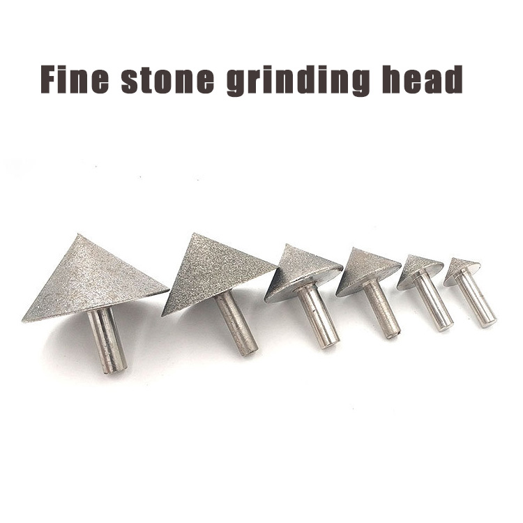 Countersink Drill Bit Electroplated Diamond Sand Cone Shape 25-45mm Grit#150 35mm