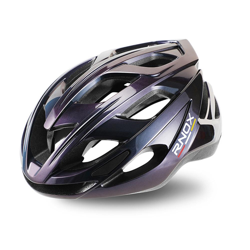 Aerodynamics Helmet Ultralight Unisex Integrated Bicycle Helmet Road Racing Cycling Safety Bike Helmet Riding Equipment Colorful purple_One size