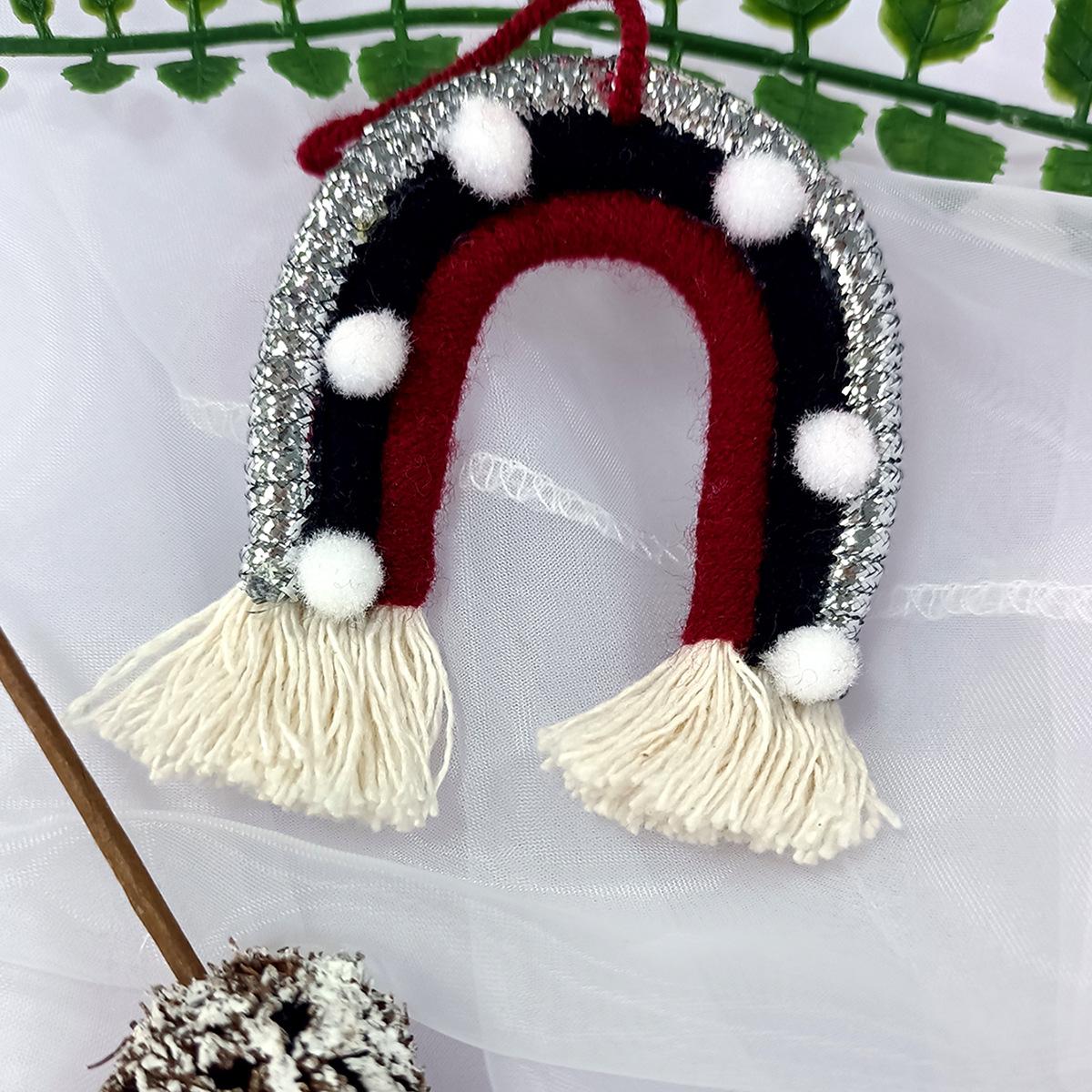 Christmas Rainbow Ornaments Christmas Tree Pendant For Household Decoration C07