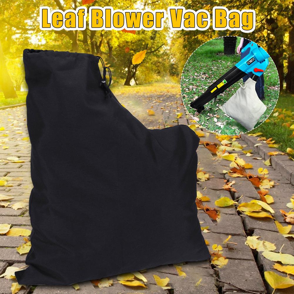 Leaf Blower Vacuum Cleaner Bag Street Cleaning Storage  Container Garden Accessories Black upgrade