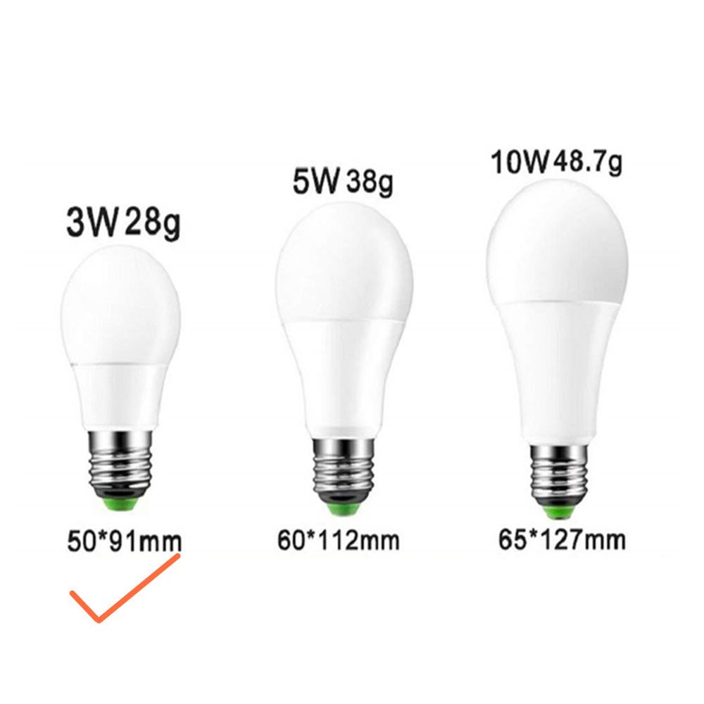 E27 85-265V IR Remote Controlled Dimming LED Bulb RGB Color Changing Light Lamp Bulb RGB