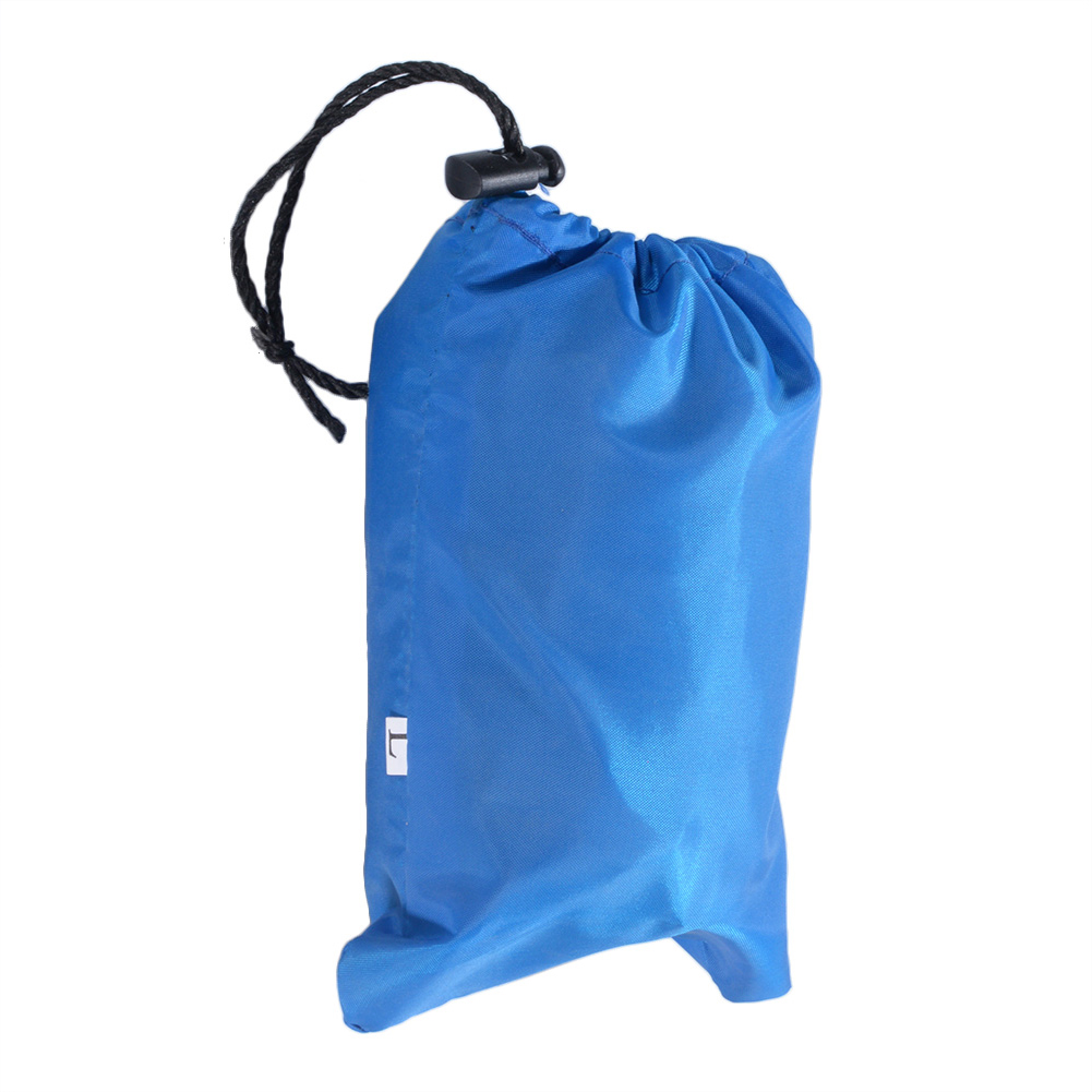 Outdoor Camping Hiking Folding Wash basin Bucket Travel Bag (Royal Blue, 12L)