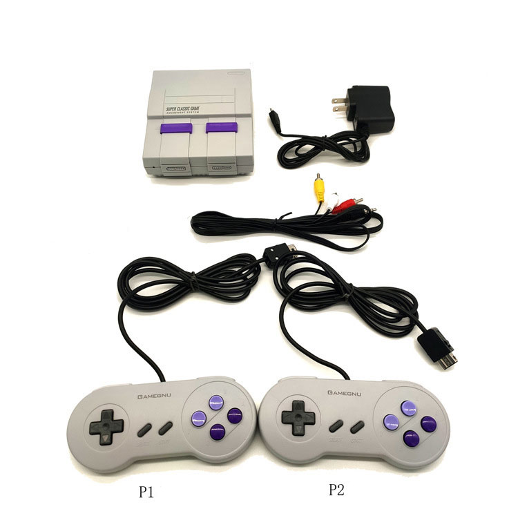 Retro Game Console Wired Controllers Audio / Video Cable for TV British regulatory