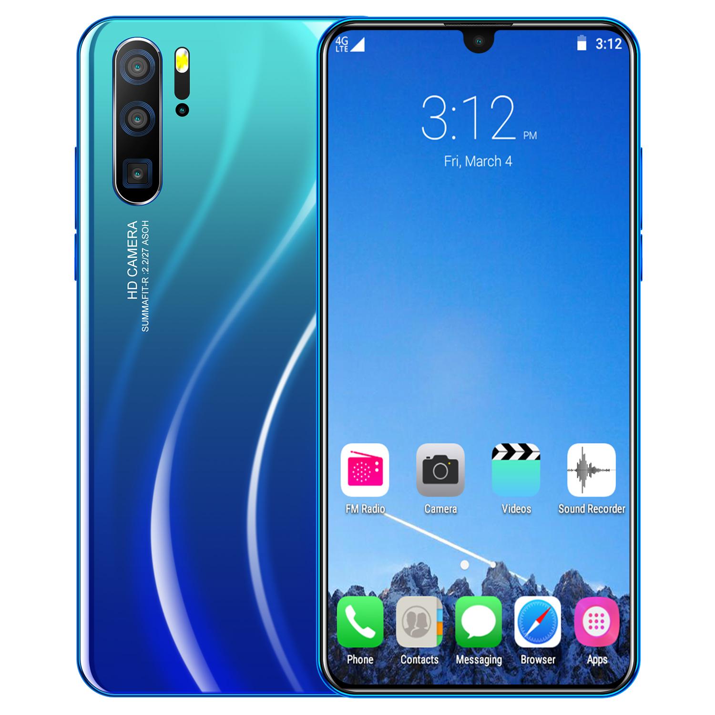 6.3 inch P36 PRO Smartphone blue_U.S