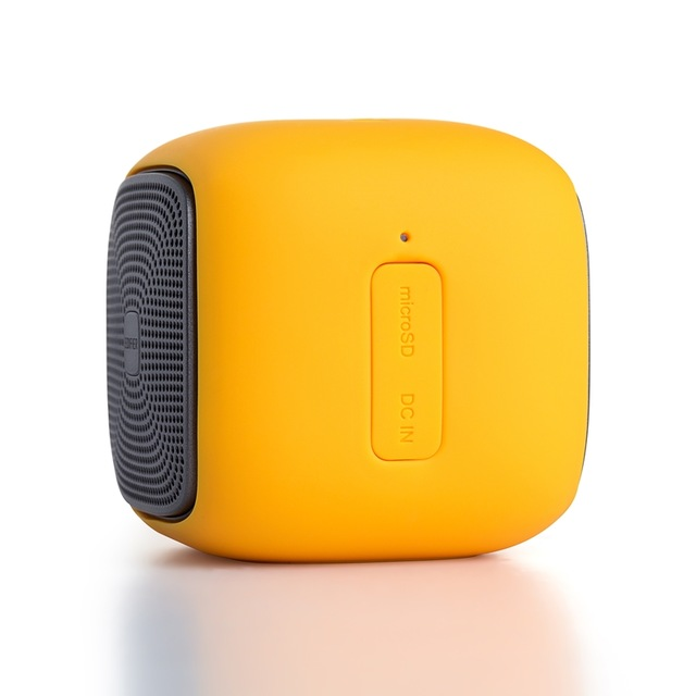 Original EDIFIER M200 Mini Wireless Bluetooth Speaker Super Bass Loudspeakers Waterproof Support SD Card Outdoor Music Play Compatible for Smartphones yellow