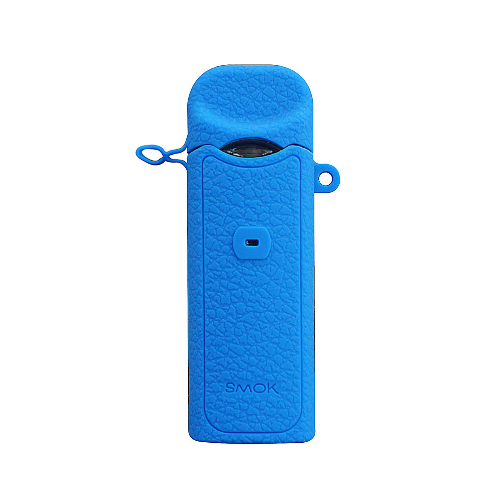 Silicone Protective Case Waterproof Scratchproof Accessory for E-cigarette Dark blue