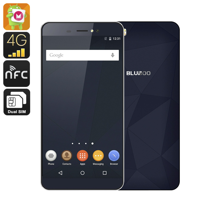 Bluboo Picasso Smartphone (Blue)