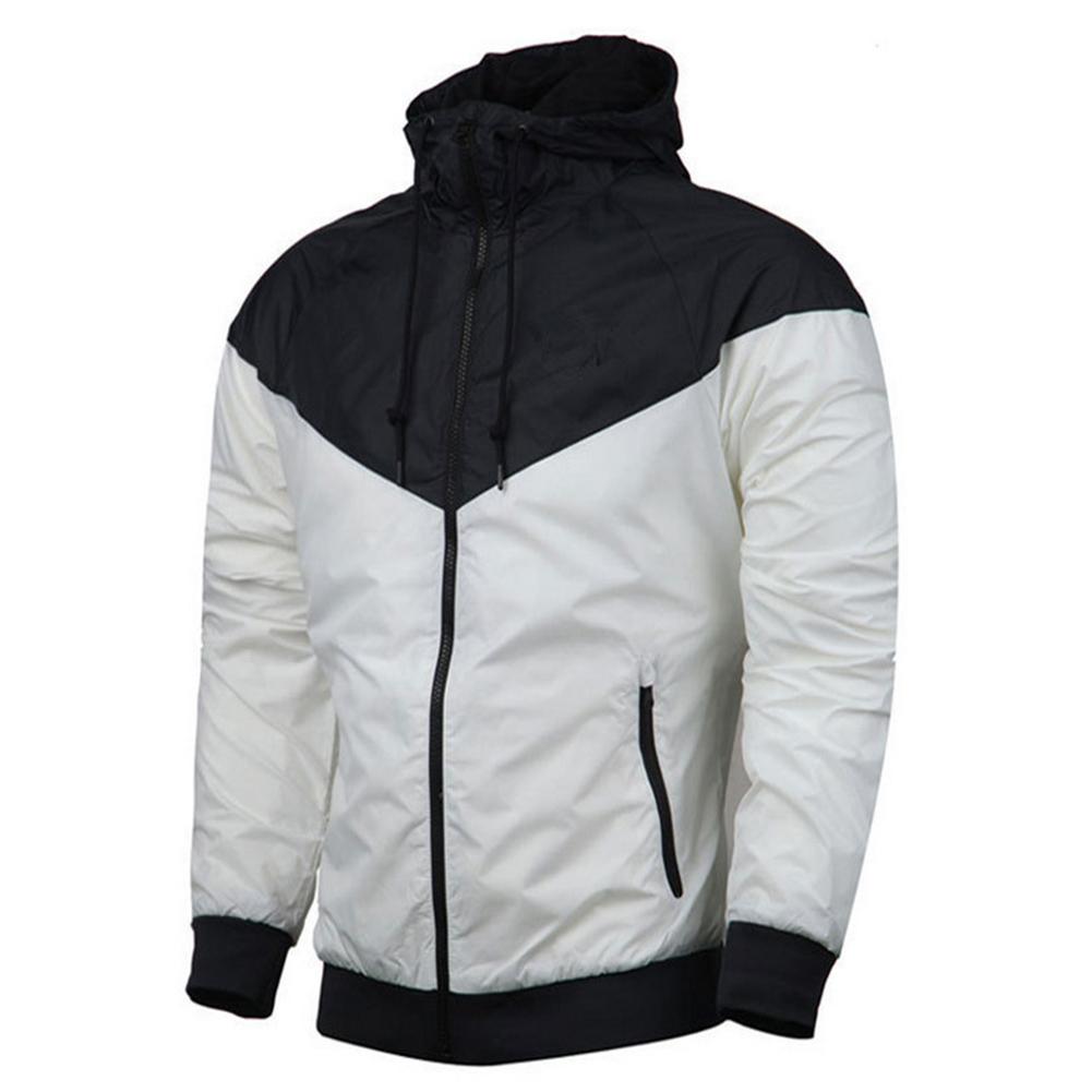 Men Women Jacket Sports Sunscreen Outdoor Windbreak Running Mountaineering Sportswear Coat white_XL