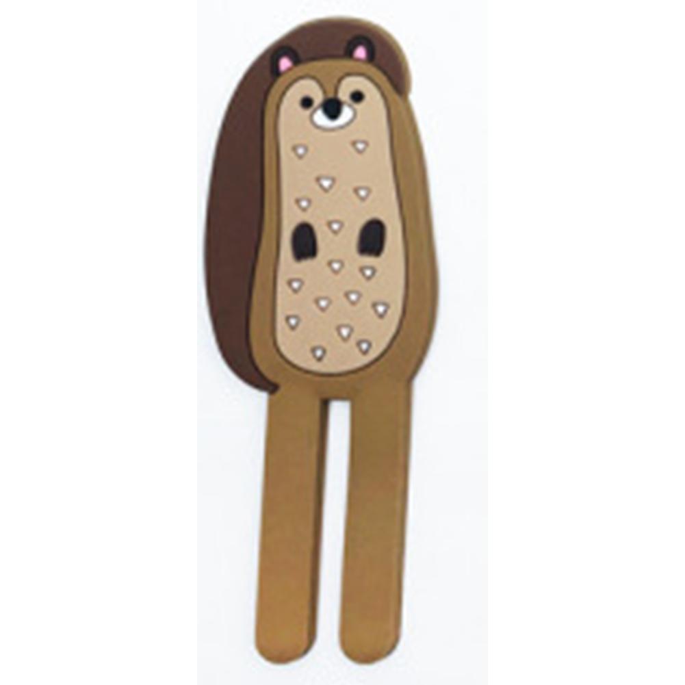 Lovely Cartoon Animal Shape Mag Refrigerator Sticker Hanging Hook Home Accessories  squirrel