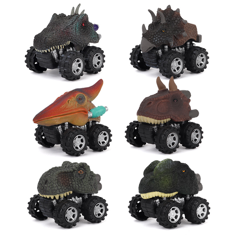 Children Boy Science and Education Cognitive Simulation Off-road Toy Car as shown