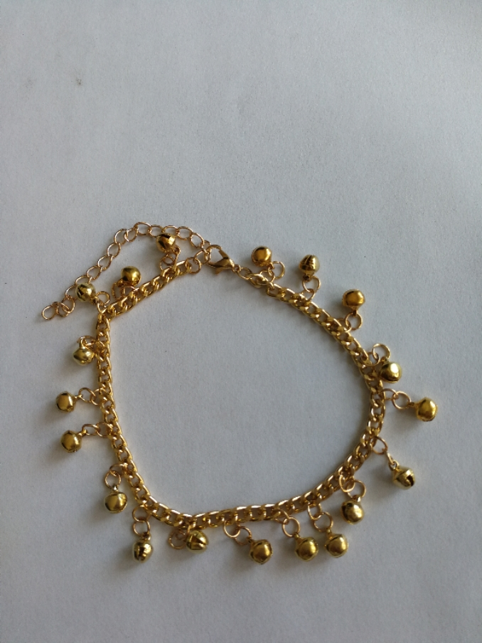 Indian Belly Dance Ghungroo Brass Anklet