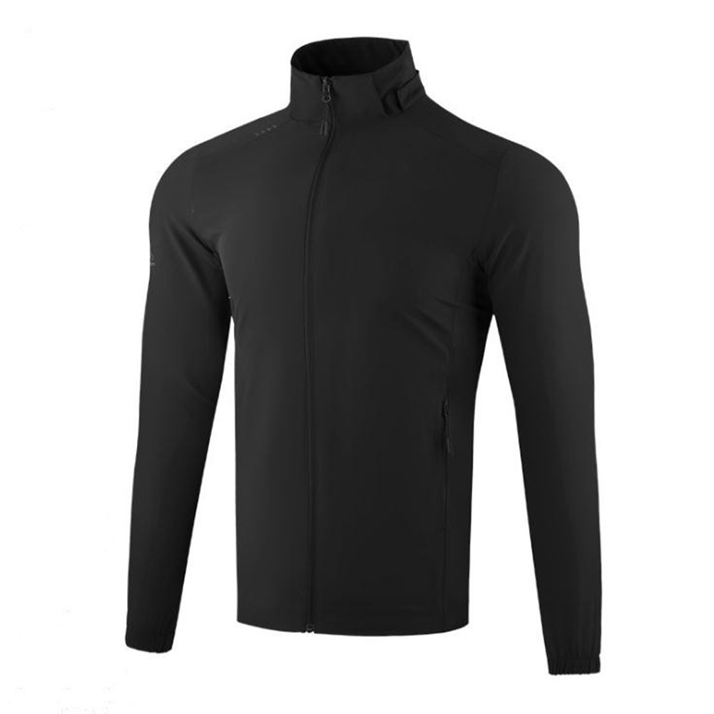 Golf Clothes Male Jacket Autumn Winter Windproof Clothes Sport Clothes with Cap