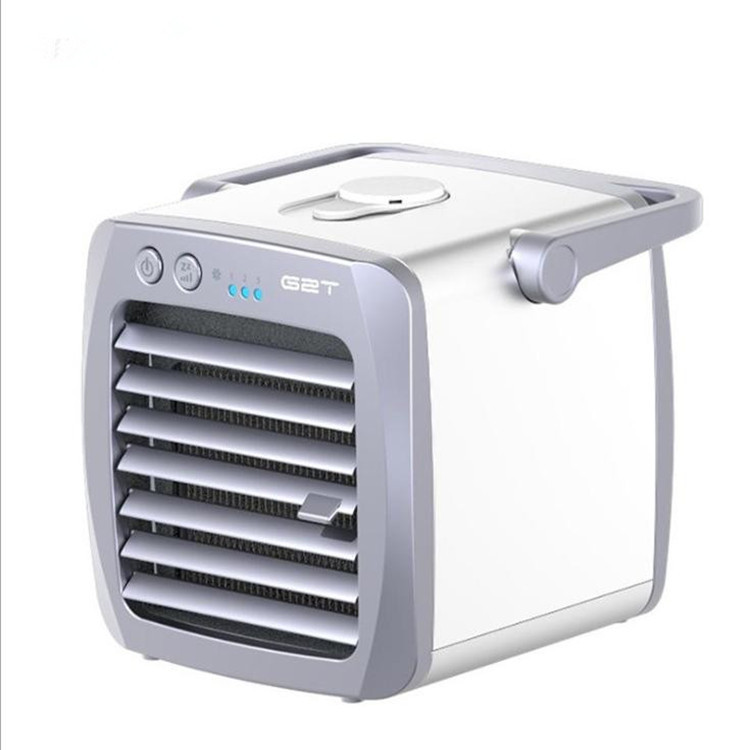 Portable Mini Air Conditioner Fan USB Arctic Cooling Home Office Personal Space Fan Cooler white