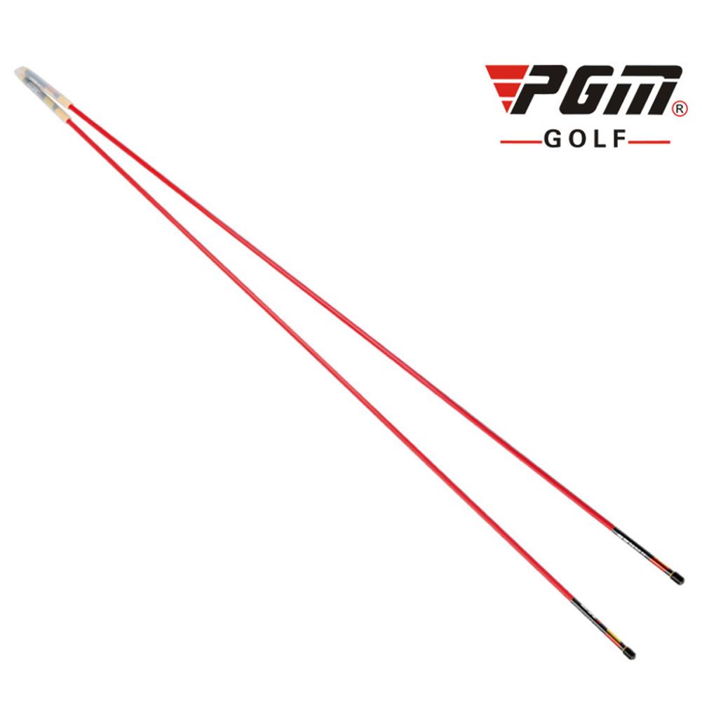 Golf Assist Swing Turn Shoulder Stick Posture Corrector Putting Rod red