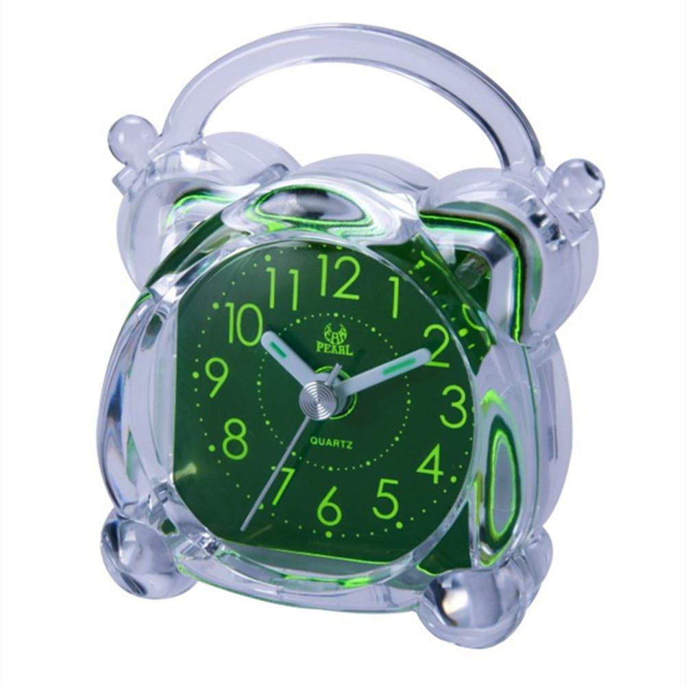Silent Noctilucent Alarm Clock for Travel Bedside Study Room BD