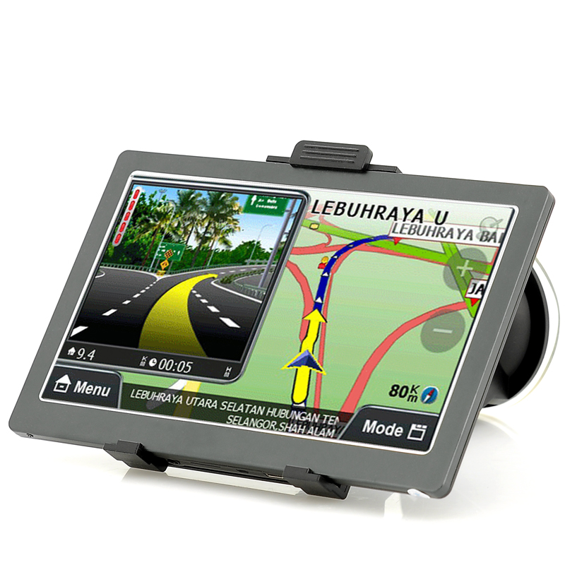 Touch Screen GPS Navigation