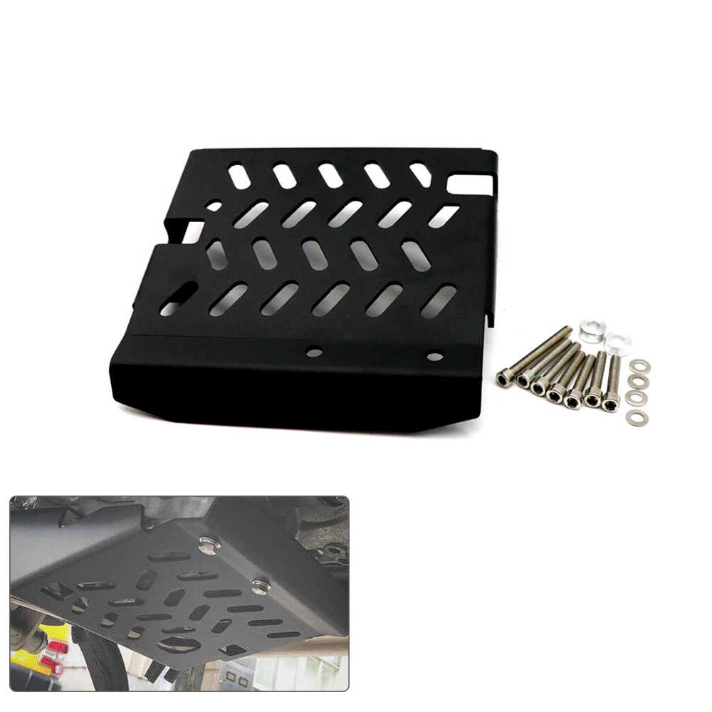 Stainless Steel Chassis Protection Cover for Honda XADV750 2017-2019 Motorcycle black