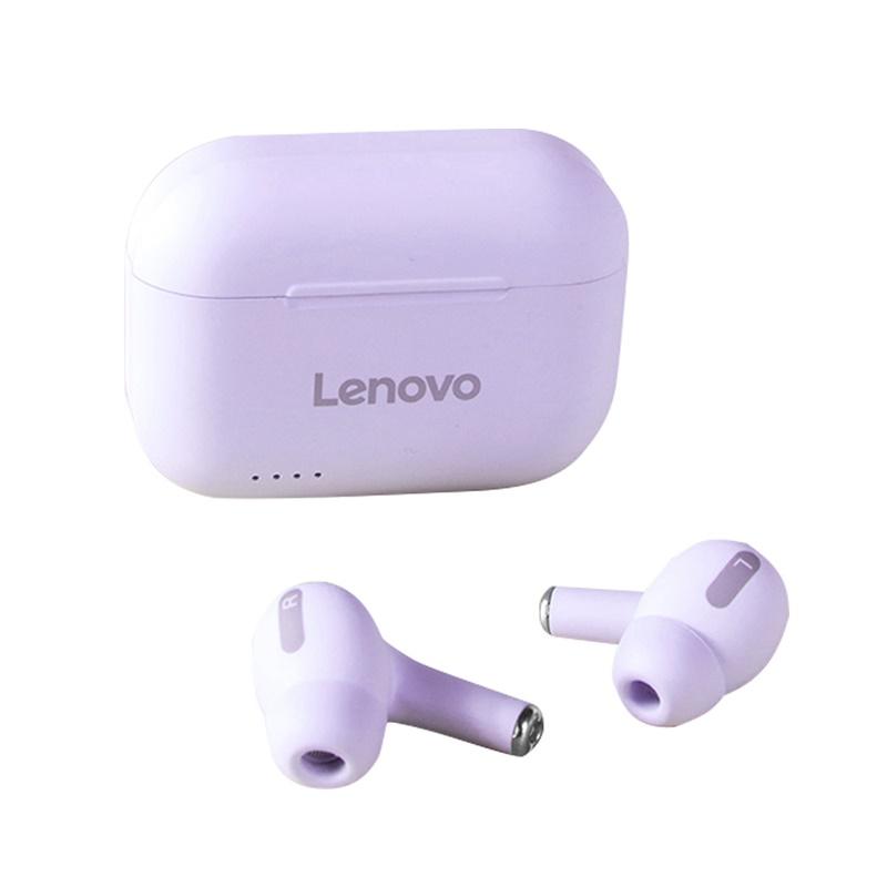 Original LENOVO Lp1s Wireless Earphones Sound Quality Upgraded True Wireless Bluetooth Headset Purple