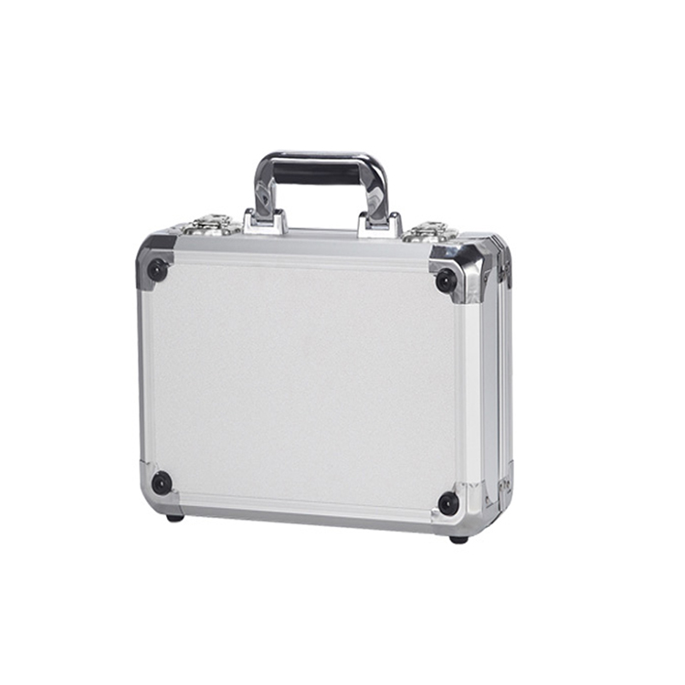 HUBSAN ZINO H117S Quadcopter Protective Storage Case Custom Made Waterproof Shockproof Hubsan Mini Carrying Aluminum Case Silver