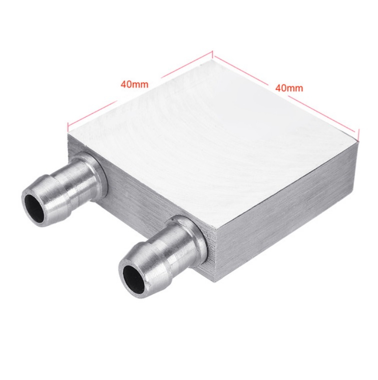 Aluminum Liquid-Water Cooling Block for Computer CPU Radiator for PC And Laptop CPU Heat Sink System 40*40