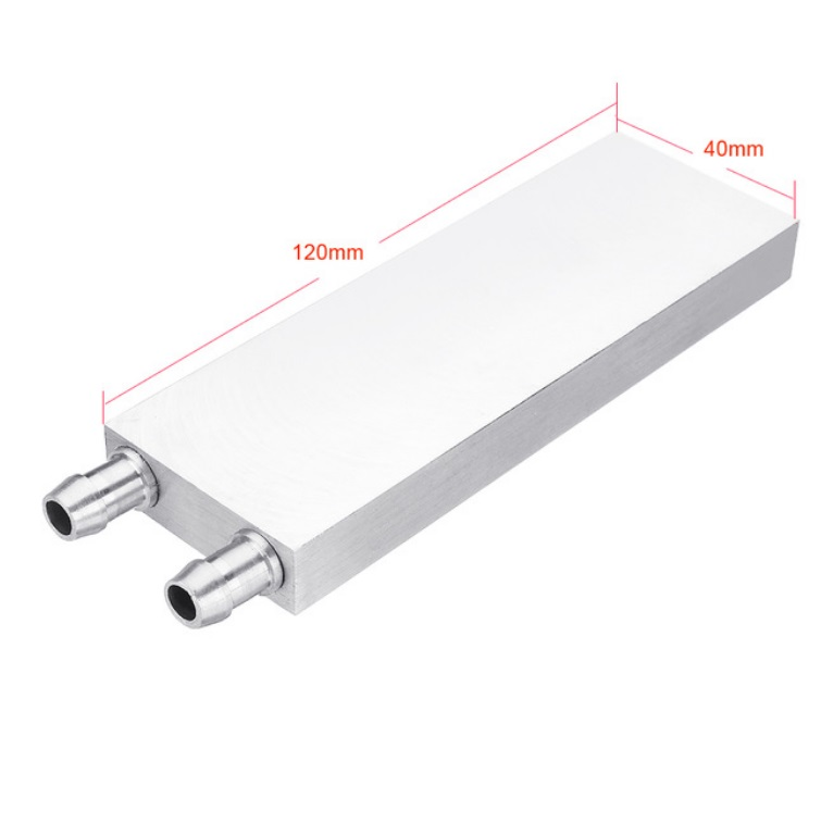 Aluminum Liquid-Water Cooling Block for Computer CPU Radiator for PC And Laptop CPU Heat Sink System 40*120
