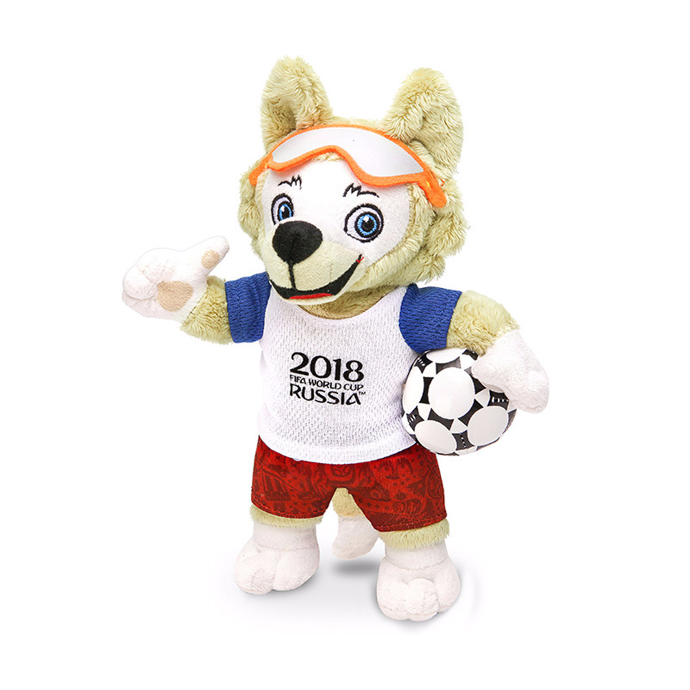 Fashion Creative 2018 Russia World Cup Mascot Plush Toy (without Gift Box)