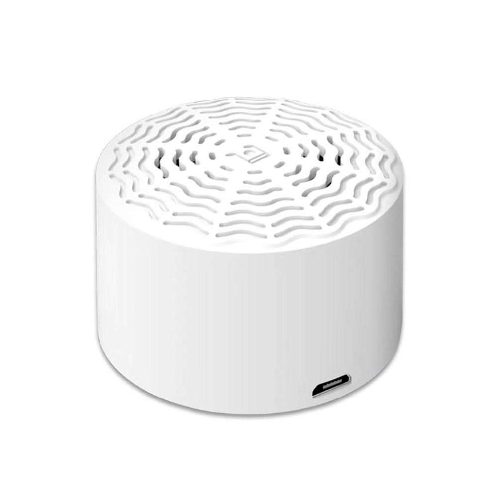 Car Smart AI Bluetooth Portable Speaker white