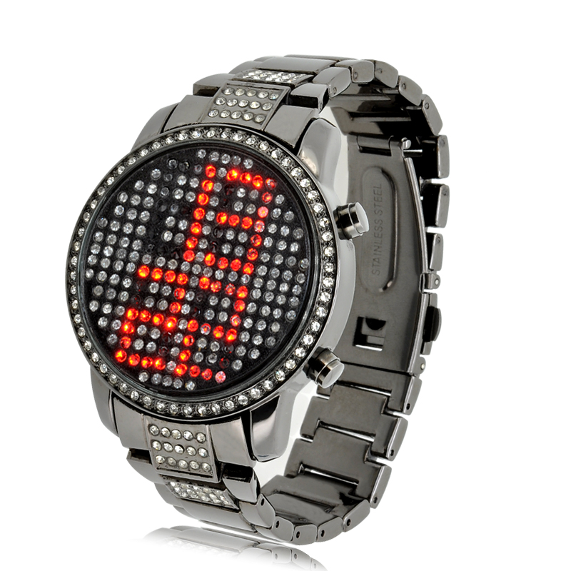 Red LED Watch - Ruby