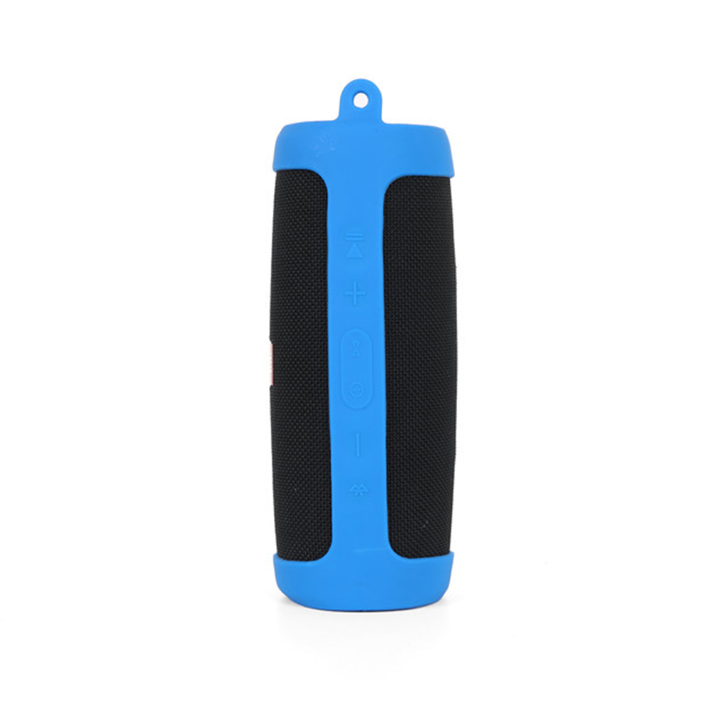 Silicone Protection Case for JBL Charge 4 Portable Waterproof Wireless Bluetooth Speaker blue