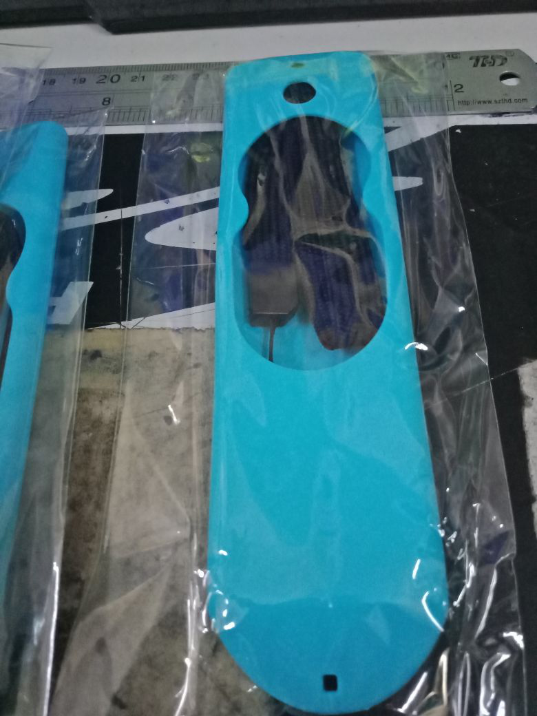 For Amazon Fire TV Stick Voice Remote All Gen Anti Slip Shock Proof Case Cover blue