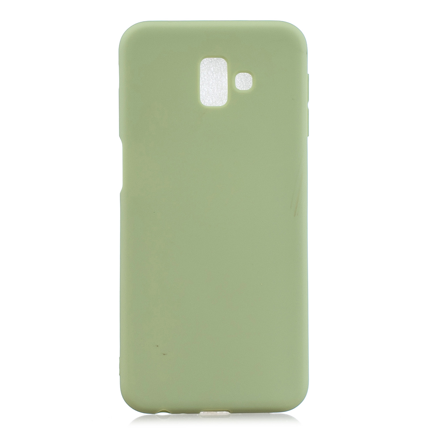 For Samsung J6 PLUS Lovely Candy Color Matte TPU Anti-scratch Non-slip Protective Cover Back Case 10