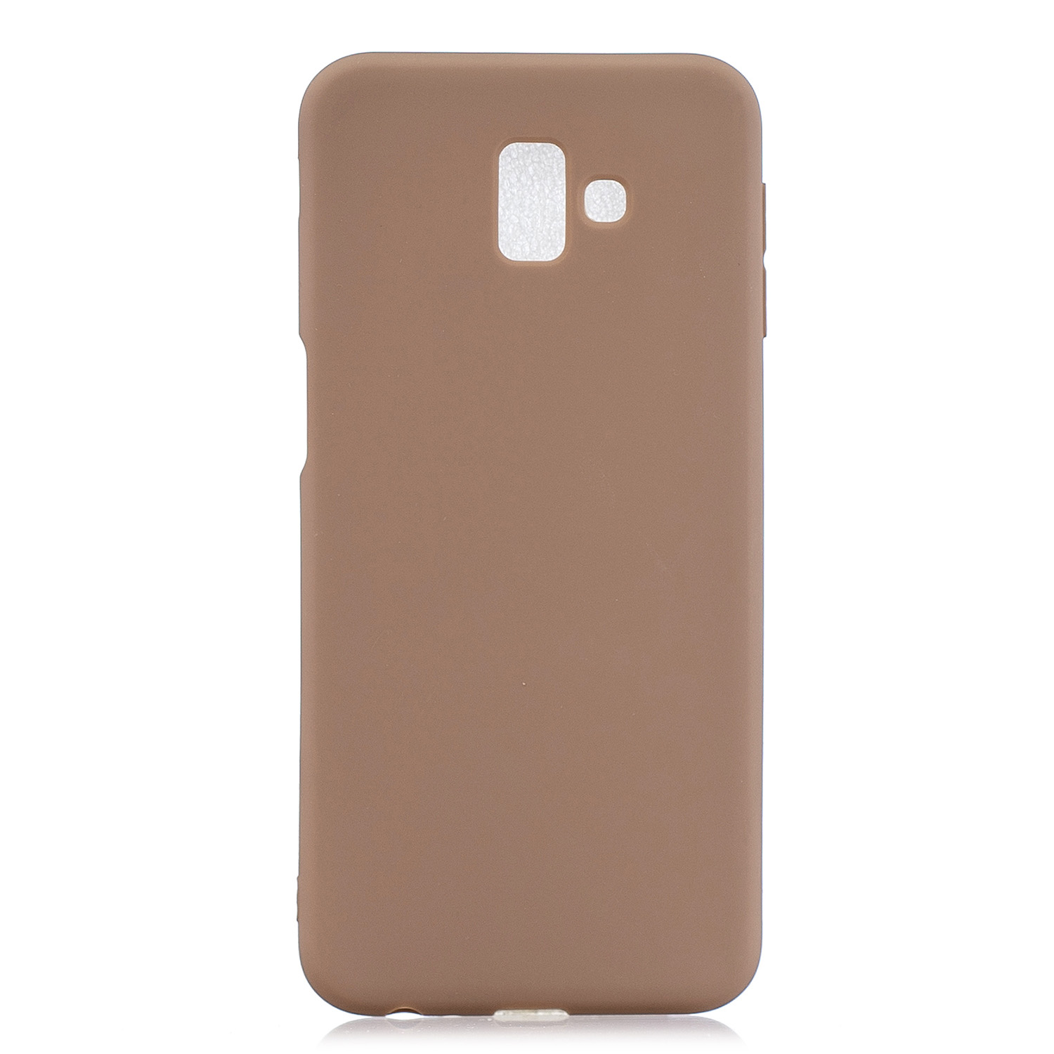 For Samsung J6 PLUS Lovely Candy Color Matte TPU Anti-scratch Non-slip Protective Cover Back Case 9