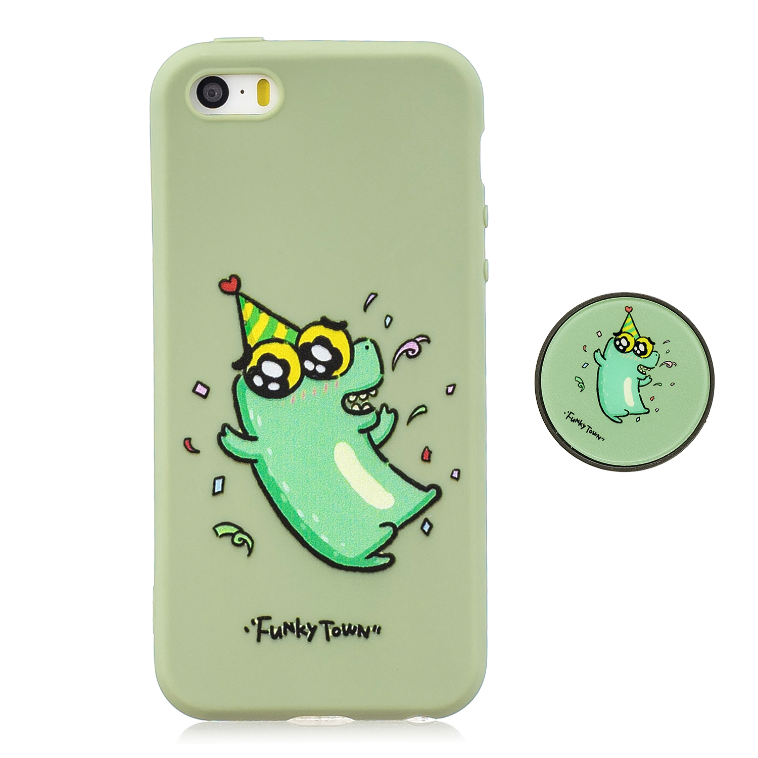 For iPhone 5 5S SE Phone Cases TPU Full Cover Cute Cartoon Painted Case Girls Mobile Phone Cover 2