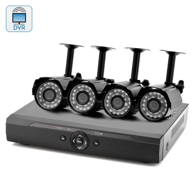 4 Channel DVR Surveillance Kit 'Spookfish II'
